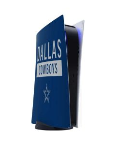 Dallas Cowboys Blue Performance Series PS5 Digital Edition Console Skin