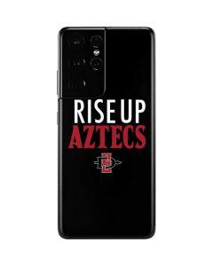 Rise Up Aztecs Galaxy S21 Ultra 5G Skin