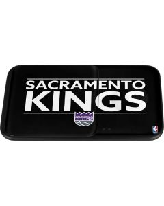 Sacramento Kings Standard - Black Wireless Charger Duo Skin
