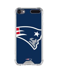 New England Patriots Large Logo iPod Touch (5th-6th-7th Gen) Clear Case
