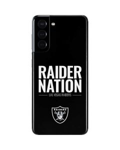 Las Vegas Raiders Team Motto Galaxy S21 5G Skin