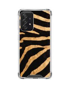 Zebra Galaxy A52 5G Clear Case