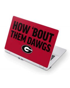 How Bout Them Dawgs Acer Chromebook Skin