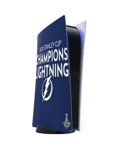 2020 Stanley Cup Champions Lightning PS5 Digital Edition Console Skin