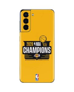 2020 NBA Champions Lakers Galaxy S21 5G Skin