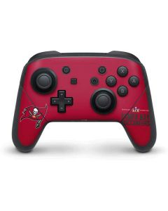 Super Bowl LV Champions Tampa Bay Buccaneers Nintendo Switch Pro Controller Skin