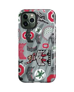 Ohio State Pattern iPhone 12 Pro Max Case