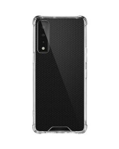 Black Hex LG Stylo 7 5G Clear Case