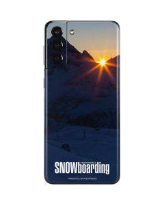 TransWorld SNOWboarding Dark Galaxy S21 Plus 5G Skin