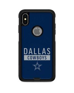 Dallas Cowboys Blue Performance Series Otterbox Commuter iPhone Skin