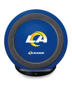 Los Angeles Rams Distressed Fast Charge Wireless Charging Stand Skin