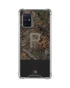 Pittsburgh Pirates Realtree Xtra Camo Galaxy A71 5G Clear Case