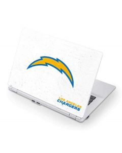 Los Angeles Chargers Distressed Acer Chromebook Skin