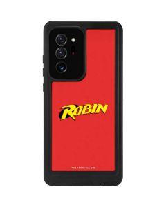 Robin Official Logo Galaxy Note20 Ultra 5G Waterproof Case