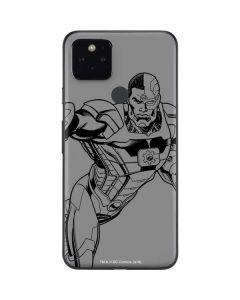 Cyborg Comic Pop Google Pixel 5 Skin