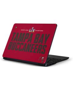 Super Bowl LV Champions Tampa Bay Buccaneers Samsung Chromebook Skin