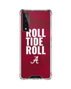 Alabama Roll Tide Roll LG Stylo 7 5G Clear Case