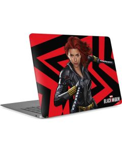 Black Widow Geometric Apple MacBook Air Skin