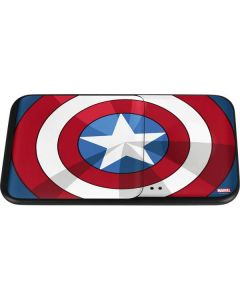Captain America Emblem Wireless Charger Duo Skin