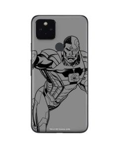 Cyborg Comic Pop Google Pixel 4a 5G Skin
