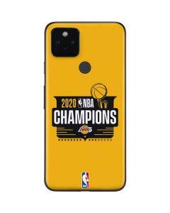 2020 NBA Champions Lakers Google Pixel 4a 5G Skin