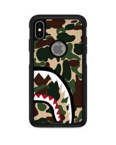 Shark Teeth Street Camo Otterbox Commuter iPhone Skin