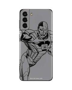 Cyborg Comic Pop Galaxy S21 Plus 5G Skin