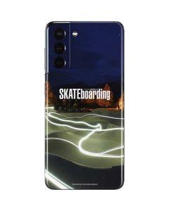 TransWorld Luminescent Skate Park Lights Galaxy S21 5G Skin