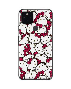 Hello Kitty Multiple Bows Pink Google Pixel 5 Skin