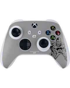 Cyborg Comic Pop Xbox Series S Controller Skin