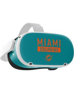 Miami Dolphins Teal Performance Series Oculus Quest 2 Skin
