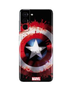 Captain America Shield Galaxy S21 5G Skin