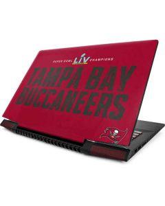 Super Bowl LV Champions Tampa Bay Buccaneers Lenovo IdeaPad Skin