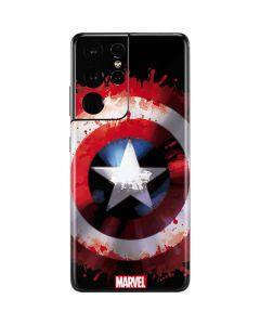 Captain America Shield Galaxy S21 Ultra 5G Skin