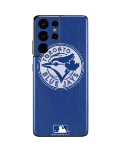 Toronto Blue Jays Monotone Galaxy S21 Ultra 5G Skin