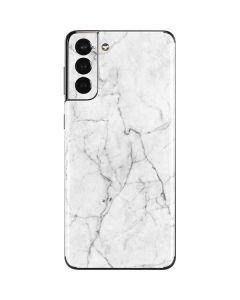 White Marble Galaxy S21 Plus 5G Skin