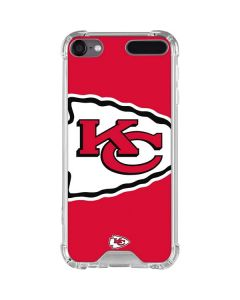 Kansas City Chiefs Large Logo iPod Touch (5th-6th-7th Gen) Clear Case