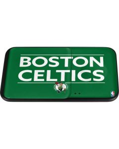 Boston Celtics Standard - Green Wireless Charger Duo Skin