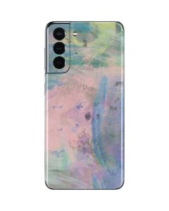 Rose Quartz & Serenity Abstract Galaxy S21 5G Skin