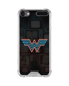 Wonder Woman Neon iPod Touch (5th-6th-7th Gen) Clear Case