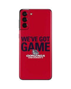 Gonzaga University Weve Got Game Galaxy S21 Plus 5G Skin