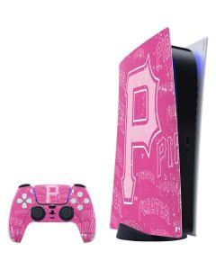 Pittsburgh Pirates - Pink Cap Logo Blast PS5 Digital Edition Bundle Skin