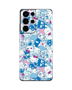 Hello Sanrio Blue Blast Galaxy S21 Ultra 5G Skin
