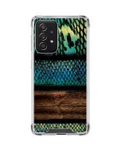 Animal Print Fashion Galaxy A52 5G Clear Case