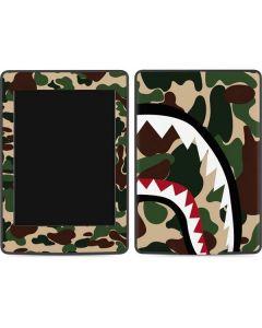 Shark Teeth Street Camo Amazon Kindle Skin