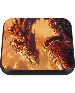 Bravery Misplaced Dragon and Knight Wireless Charger Single Skin