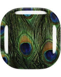Peacock Galaxy Buds Live Skin