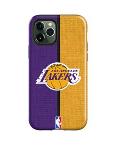 Los Angeles Lakers Canvas iPhone 12 Pro Max Case