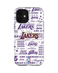 LA Lakers Historic Blast iPhone 12 Mini Case