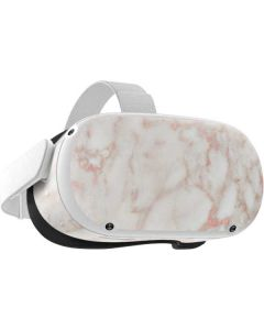 Rose Gold Marble Oculus Quest 2 Skin